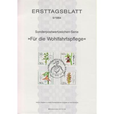 Allemagne - Collection de fiches FDC de Berlin (7 photos) - Cote €22