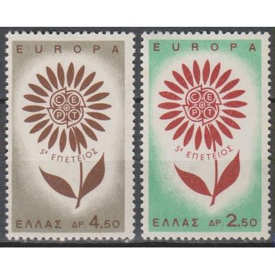 Europa 1964 - Grèce - yt.835/36 neufs ** - Cote €3