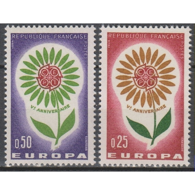 Europa 1964 - France - yt.1430/31 neufs ** - Cote €1