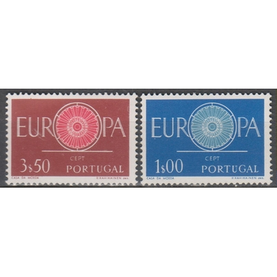 Europa 1960 - Portugal - yt.879/80 neufs ** - Cote €5