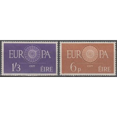 Europa 1960 - Irlande - yt.146/47 neufs ** - Cote €50