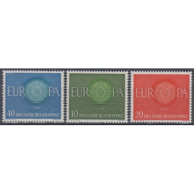 Europa 1960 - Allemagne - yt.210/12 neufs ** - Cote €2.50