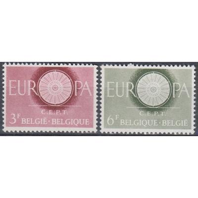 Europa 1960 - Belgique - yt.1150/51 neufs ** - Cote €2.80