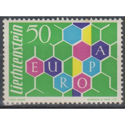 Europa 1960 - Liechtenstein - yt.355 neuf ** - Cote €120