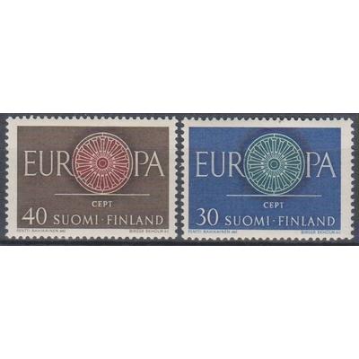 Europa 1960 - Finlande - yt.501/02 neufs ** - Cote €2.50