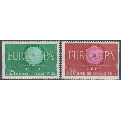 Europa 1960 - France - yt.1266/67 neufs ** - Cote €1.00