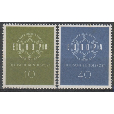 Europa 1959 - Allemagne - yt.193/94 neufs ** - Cote €2,50