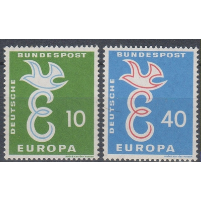 Europa 1958 - Allemagne - yt.164/65 neufs ** - Cote €6