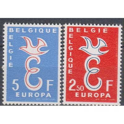 Europa 1958 - Belgique - yt.1064/65 neufs ** - Cote €10