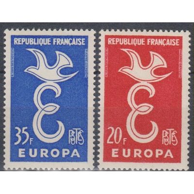 Europa 1958 - France - yt.1173/74 neufs ** - Cote €2