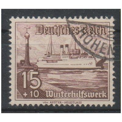 Allemagne - Secours d'hiver - yt.600 oblitéré - Cote €6.50