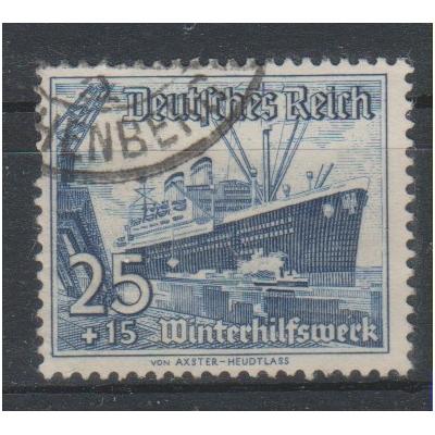 Allemagne -Secours d'hiver - yt.601 oblitéré - Cote €6.50