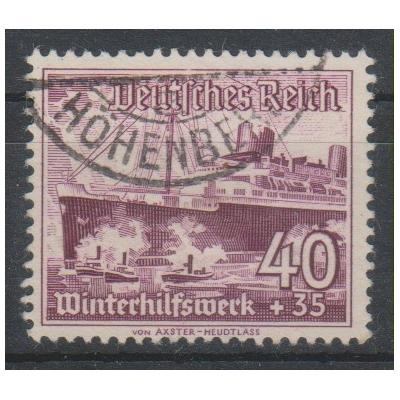 Allemagne - Secours d'hiver - yt.602 oblitéré - Cote €11
