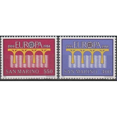 Europa 1984 - Saint Marin - yt.1090/91 neufs ** - Cote €5