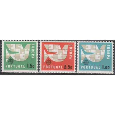 Europa 1963 - Portugal - yt.929/31 neufs ** - Cote €9.25
