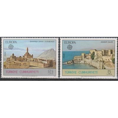 Europa 1978 - Turquie - yt.2213/14 neufs ** - Cote €7.50