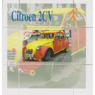 Guinée Equatoriale - Citroen 2CV - BF neuf **