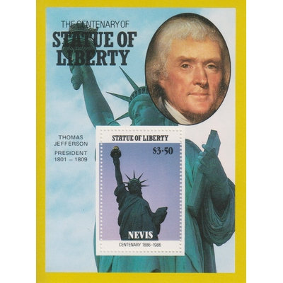 Névis - Statue de le Liberté - BF15 neuf ** - Cote €5