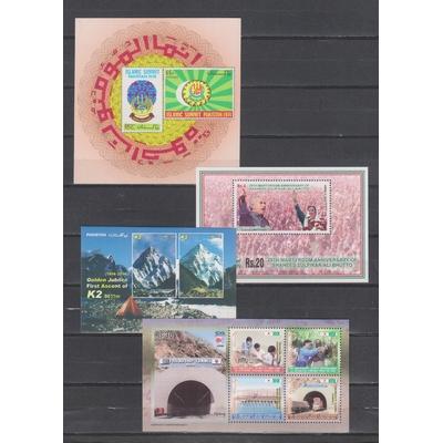 Pakistan - Collection de blocs feuillets neufs ** - Cote €21
