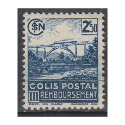 France - Colis-postaux yt.189B neuf * - cote €1.50