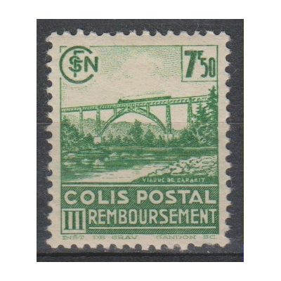 France - Colis-postaux yt.190B neuf * - Cote €7