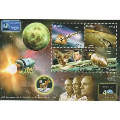 Saint Christophe - Année de l'espace 2009 - Feuillet neuf **