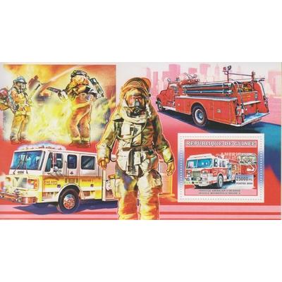 Guinée - Sapeur-Pompiers - Feuillet de 2006 neuf **