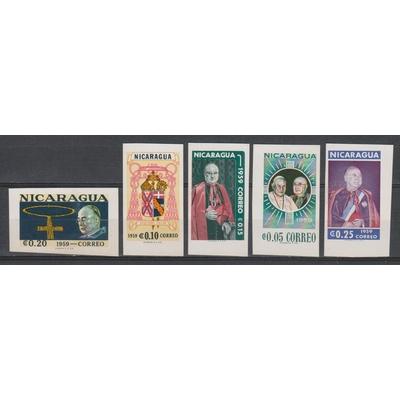 Nicaragua - Cardinal - Série non dentelé neuve ** de 1959