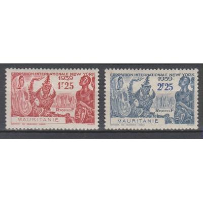 Mauritanie - Exposition New York - yt.105/06 neuf * - Cote €1.60
