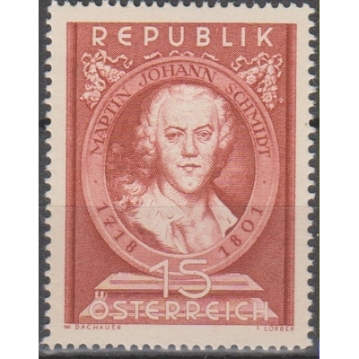 Autriche - Schmidt - yt.799 neuf * - Cote €5