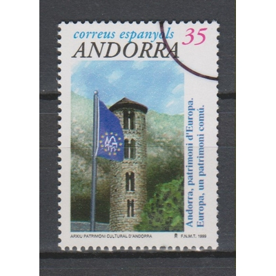 "Andorre Espagnol - Europe surchargé ""spécimen"" neuf **"