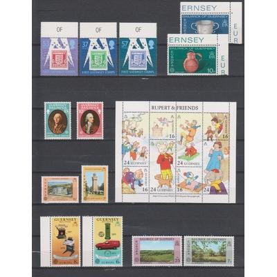 Iles britanniques - Collections d'émissions neuves ** (2 photos) - Cote €39