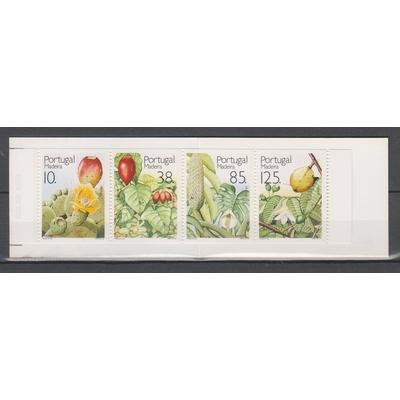 Madeire - Carnet Fruits et plantes de 1992 neuf ** - Cote €4.50