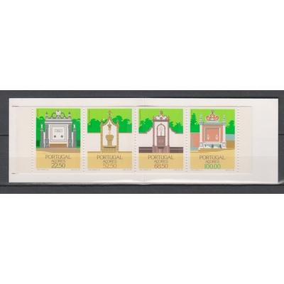 Açores - Carnet d'architecture neuf ** - Cote €11