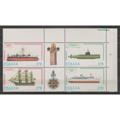 Italie - Navires - yt.1405/08 neufs ** - Cote €4