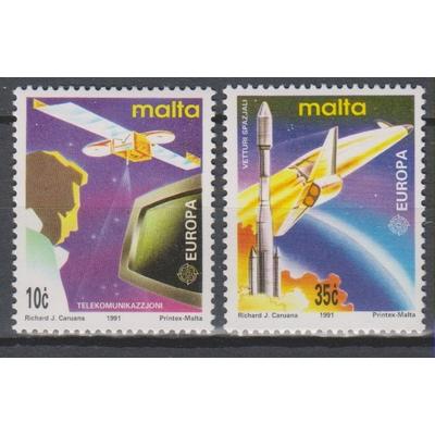 Malte - Europa de 1991 - Espace neufs ** - Cote €5