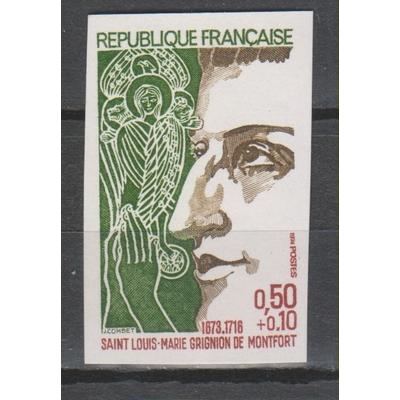 France - Montfort non dentelé de 1974 neuf ** - Cote €17