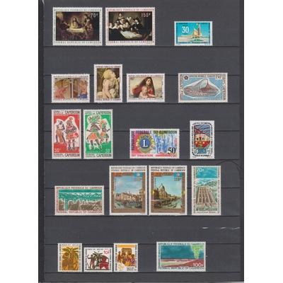 Cameroun- Sélection de timbres neufs ** - Cote €30