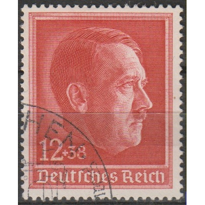 Allemagne - Hitler - yt.607 oblitéré - Cote €3