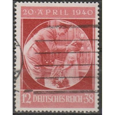 Allemagne - Hitler - yt.668 oblitéré - Cote €6.50
