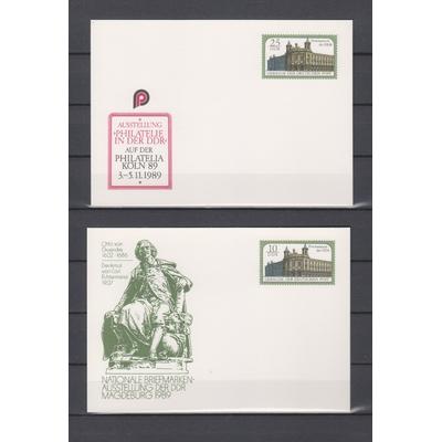 Allemagne - 2 entiers postaux expositions philatéliques neufs **