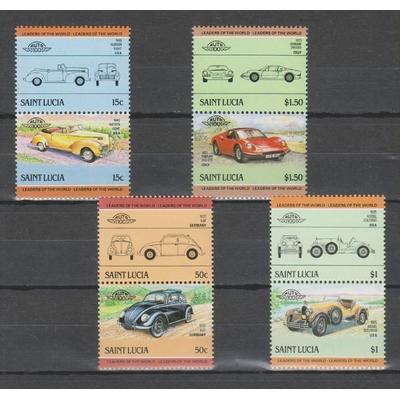 Sainte-Lucie - Automobiles - yt.728/35 neufs ** - Cote €5.50