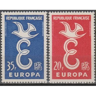 France - Europa - yt.1173/74 neufs ** - Cote €2