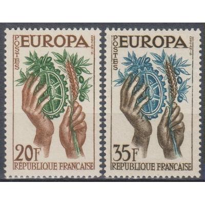 France - Europa - yt.1122/23 neufs ** - Cote €2.25
