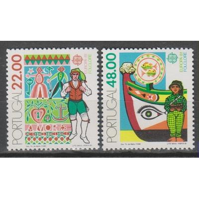 Portugal - Europa - yt.1509/10 neufs ** - Cote €4
