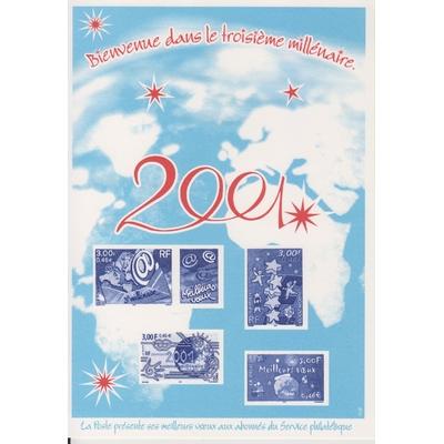 France - Feuillet spécial hors programme - Neuf** de 2001