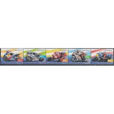 Australie - Motos - yt.2268/72 neufs ** - Cote €5.50