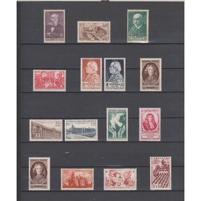 France - Collection de timbres neufs */** (2 photos) - Cote €31