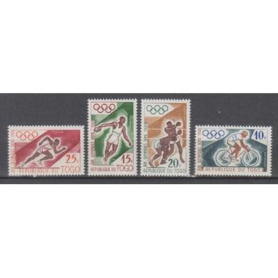 Togo - Jeux olympiques - yt.303/06 neufs ** - Cote €3.45