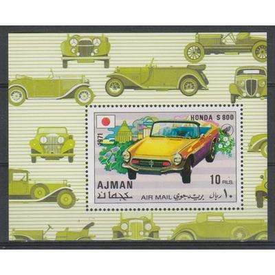Ajman - Automobile - Feuillet neuf **